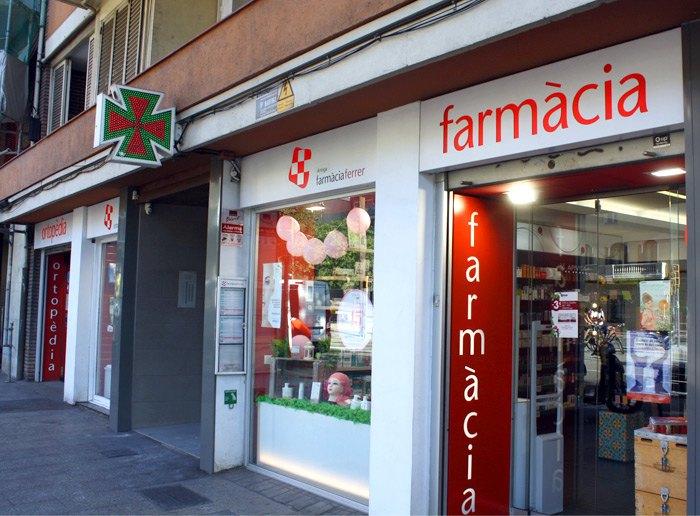 Farmacia en Gràcia